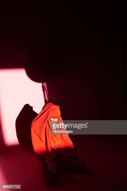 praying woman in niqab - cliqueimages stock pictures, royalty-free photos & images