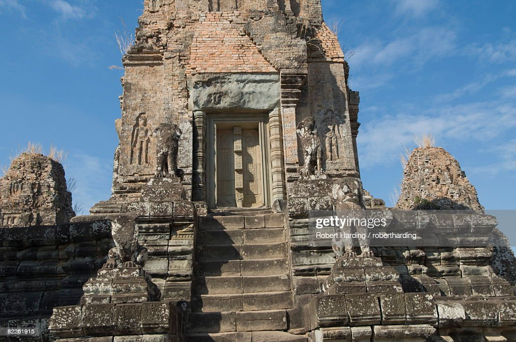 Pre Rup temple, AD 961, UNESCO World Heritage Site, near Siem Reap, Cambodia, Indochina, Southeast Asia, Asia : Stock Photo