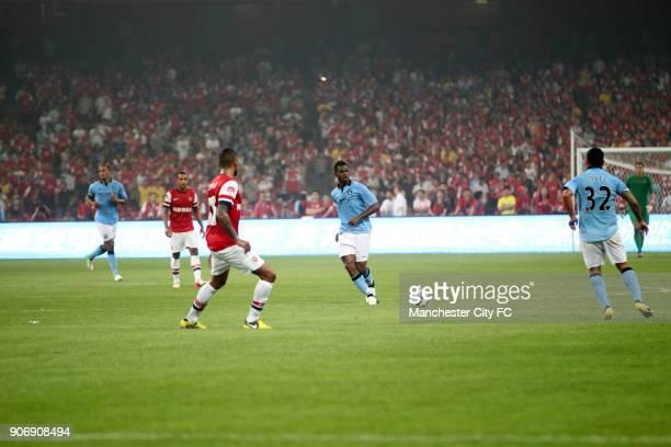 Pre Season Friendly Arsenal v Manchester City Olympic Stadium Manchester City's Abdul Razak in action