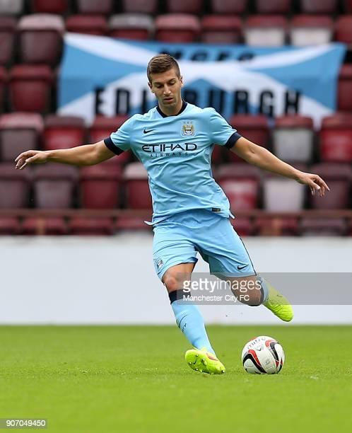 Pre Season Friendly Hearts v Manchester City Tynecastle Stadium Manchester City's Matija Nastasic in action