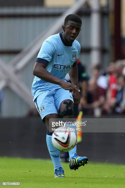 Pre Season Friendly Hearts v Manchester City Tynecastle Stadium Manchester City's Gregory Leigh