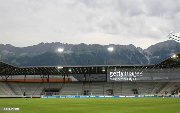 Pre Season Friendly Manchester City v Al Hilal Tivoli Neu General view of the Tivoli Neu Stadium