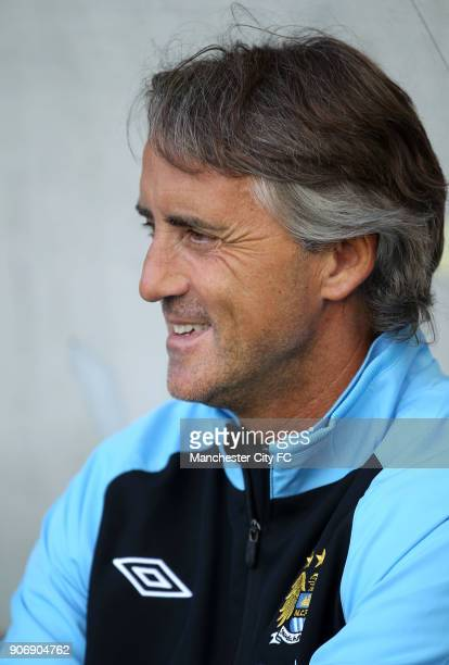 Pre Season Friendly Manchester City v Al Hilal Tivoli Neu Manchester City's manager Roberto Mancini