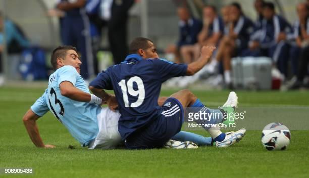 Pre Season Friendly Manchester City v Al Hilal Tivoli Neu Manchester City's Aleksandar Kolarov in action