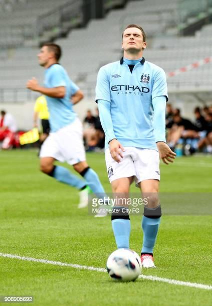 Pre Season Friendly Manchester City v Al Hilal Tivoli Neu Manchester City's Adam Johnson rues a missed chance