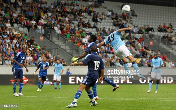 Pre Season Friendly Manchester City v Al Hilal Tivoli Neu Manchester City's Luca Scapuzzi in action
