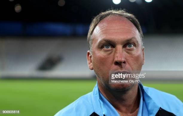 Pre Season Friendly Manchester City v Al Hilal Tivoli Neu Manchester City's coach David Platt