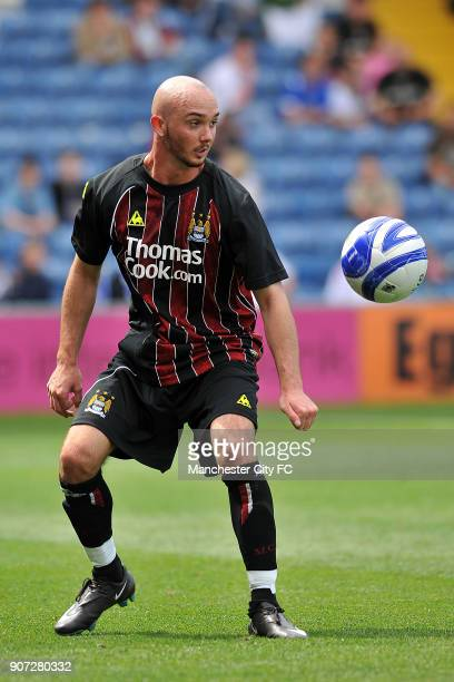 Pre Season Friendly, Stockport County v Manchester City, Edgeley Park, Stephen Ireland, Manchester City