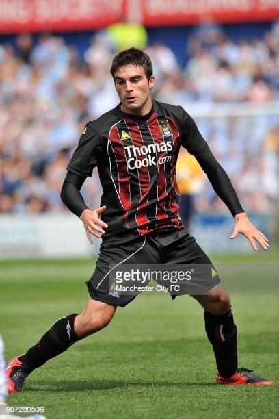 Pre Season Friendly, Stockport County v Manchester City, Edgeley Park, Javier Garrido, Manchester City