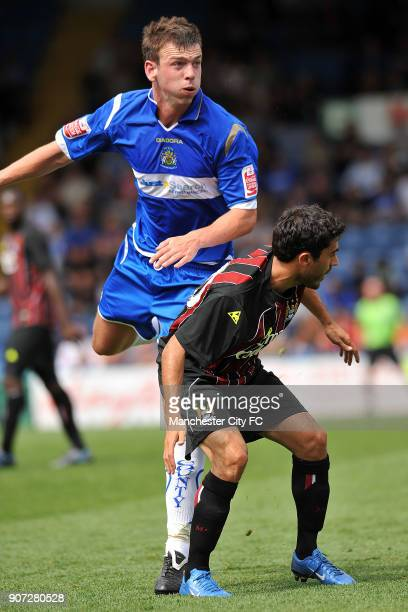 Pre Season Friendly, Stockport County v Manchester City, Edgeley Park, Manchester City's Nery Castillo in action aginst Stockport County