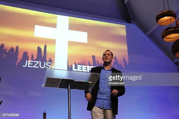 Preacher in Church