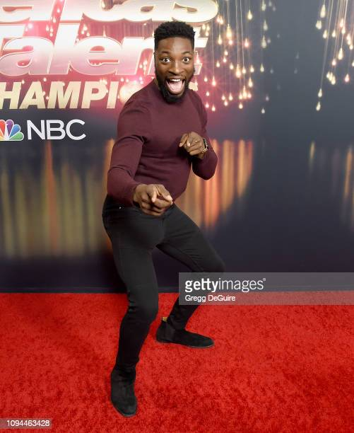 Preacher Lawson arrives at America's Got Talent The Champions Finale at Pasadena Civic Auditorium on October 17 2018 in Pasadena California