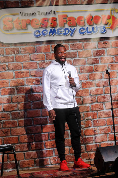 NJ: Preacher Lawson Performs At The Stress Factory Comedy Club