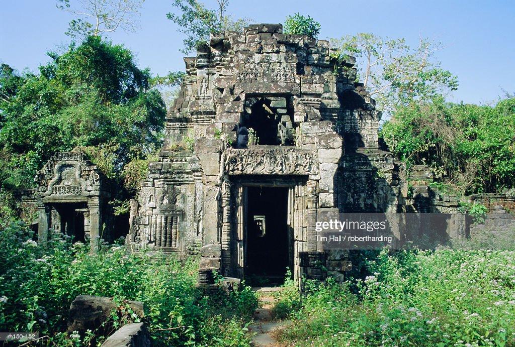 Preah Kahn, Angkor, Siem Reap, Cambodia, Indochina, Asia : Foto de stock