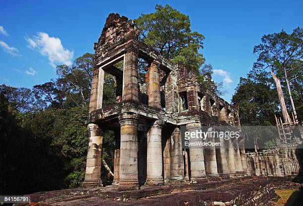 Preah Khan temple built by king Jayavarman VII in the late 12th century AD in the Angkor Archeological Park in Siem Reap on December 25 Cambodia...