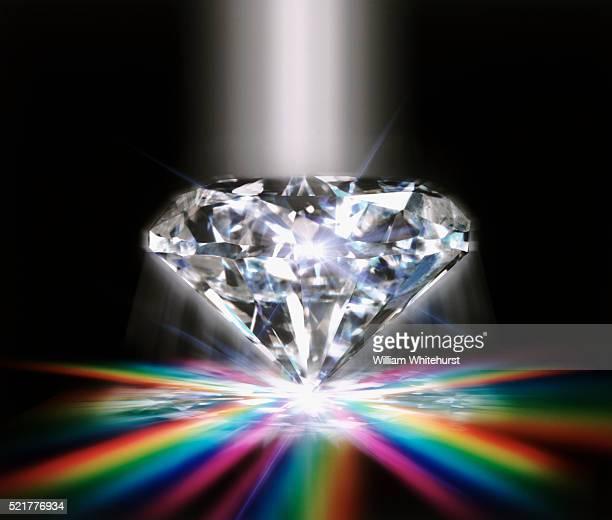 Precious Diamond With Rainbow