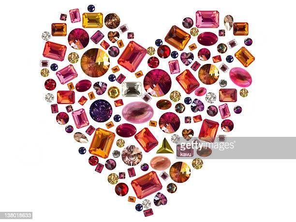 precious heart - topaz stock photos and pictures