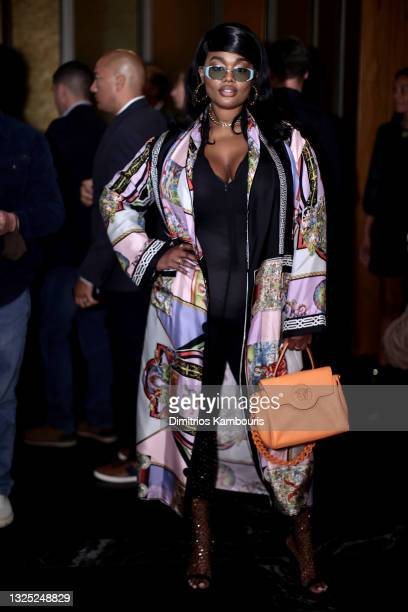 Precious Lee attends 'Mary J Blige: My Life' premiere presented by Amazon Studios at Rose Theater at Jazz at Lincoln Center's Frederick P. Rose Hall...