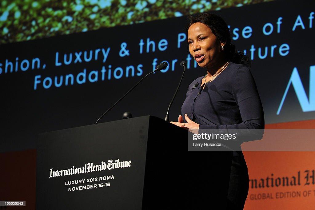 2012 International Herald Tribune's Luxury Business Conference - Day 3 : News Photo