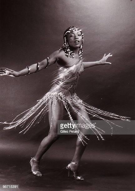Precious Wilson poses for a studio portrait in 1978