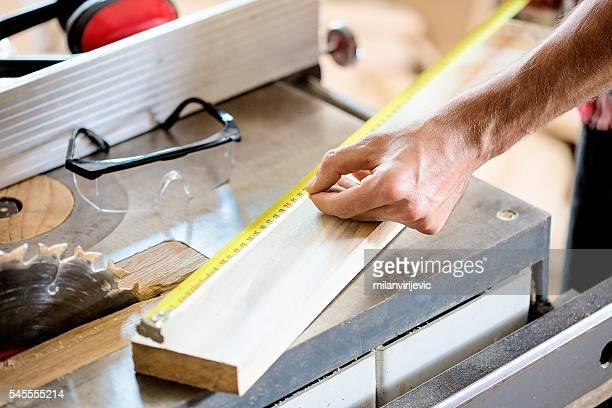 Precise measuring close up