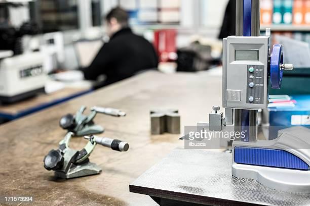 Präzisen Messung der Qualitätskontrolle in der Industrie
