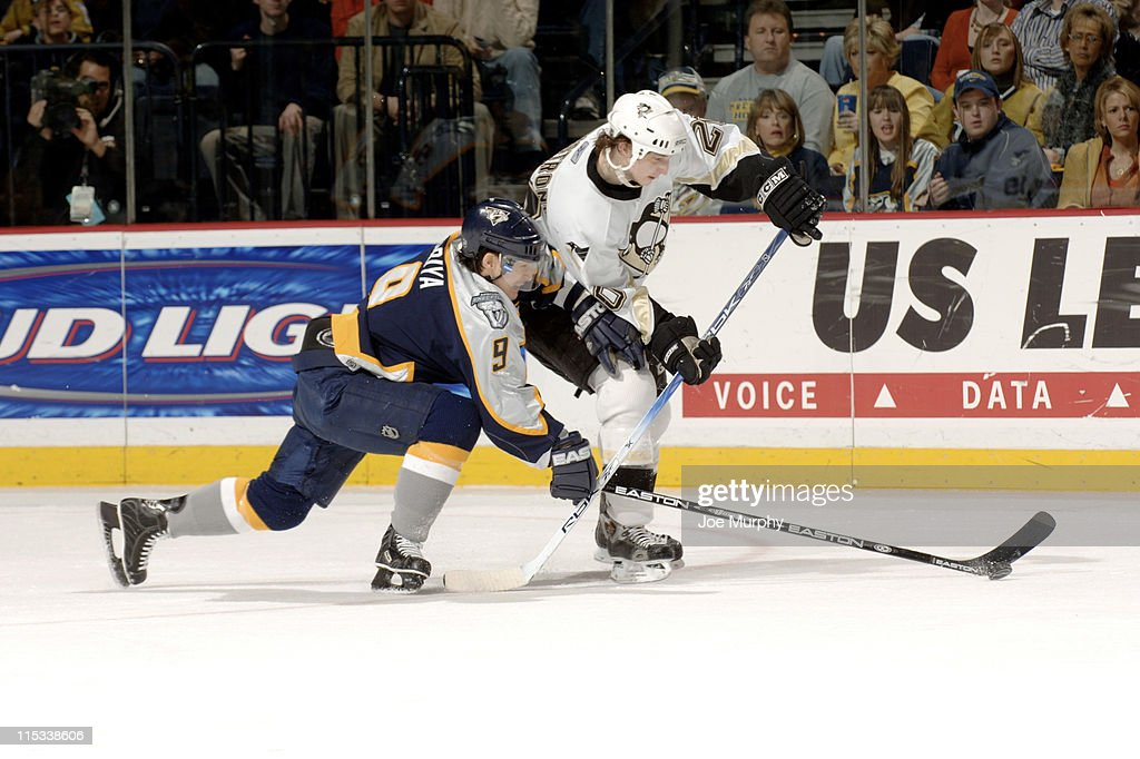 Pittsburgh Penguins vs Nashville Predators - January 15, 2006