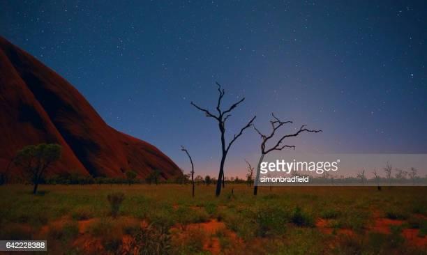 Pre-Dawn At Uluru