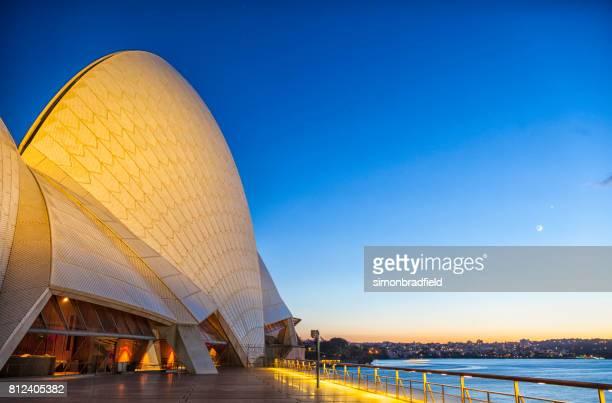 Pre-Dawn Light Over Sydney
