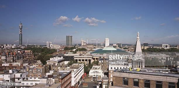 PreDevelopment Shots London United Kingdom Architect Architect Unknown PreDevelopment Shots General Cityscape View Of North London With British...