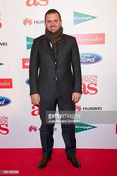 Predreg Mijatovic attends As del Deporte awards 2012 at Palace Hotel on December 10 2012 in Madrid Spain