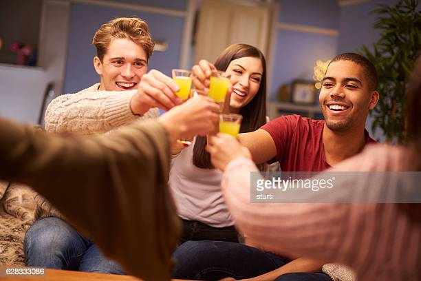 pre-drinking students