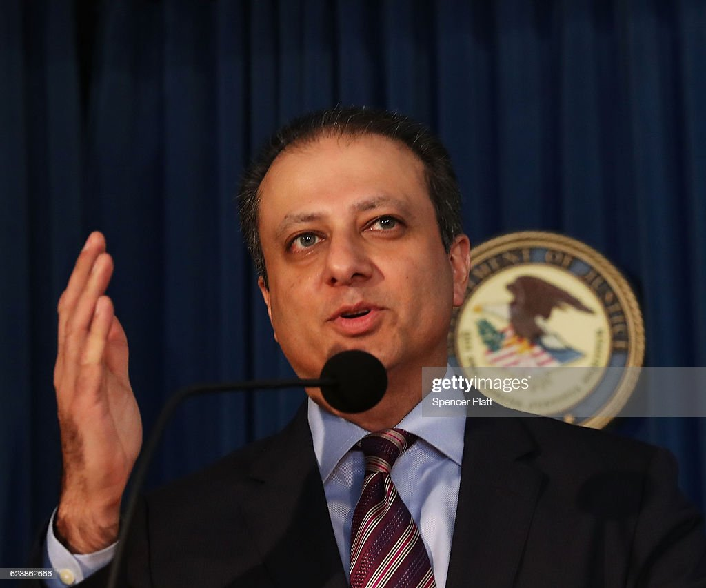 Preet Bharara, U S  attorney for the Southern District of New York