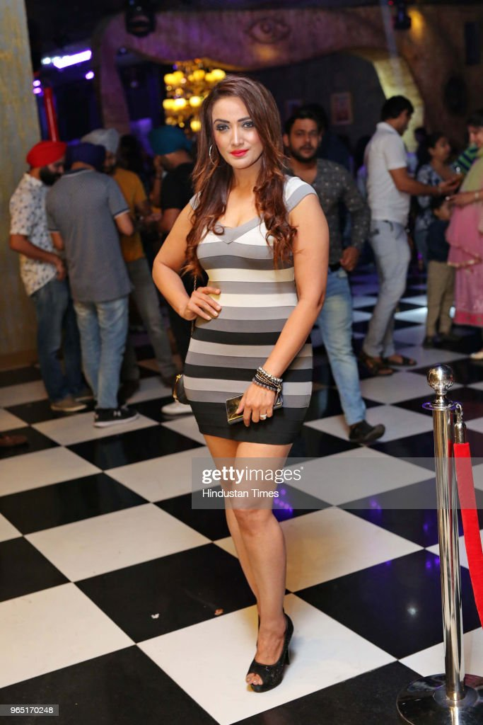 Preeti Vohra during the promotion of upcoming Punjabi movie Carry On Jatta 2 at The Theatre Club Lounge Paschim Vihar on May 27 2018 in New Delhi...