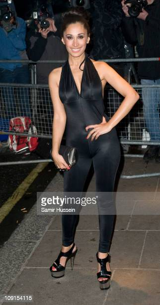 Preeya Kalidas arrives at the BRIT Awards 2011 Universal Aftershow Party at the Savoy Hotel on February 15 2011 in London England