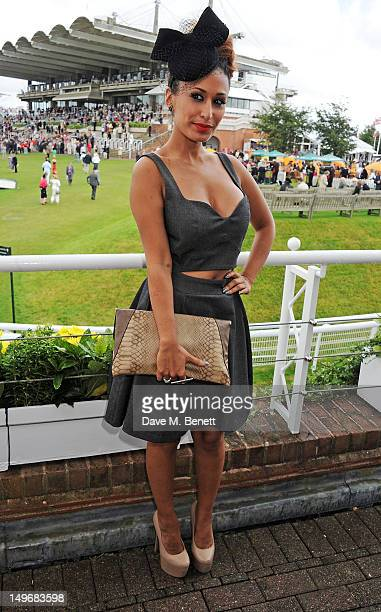 Preeya Kalidas attends Ladies Day at Glorious Goodwood held at Goodwood Racecourse on August 2 2012 in Chichester England