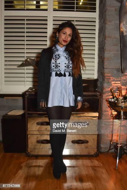 Preeya Kalidas attends Mason Smillie's birthday party at McQueen on November 21 2017 in London England