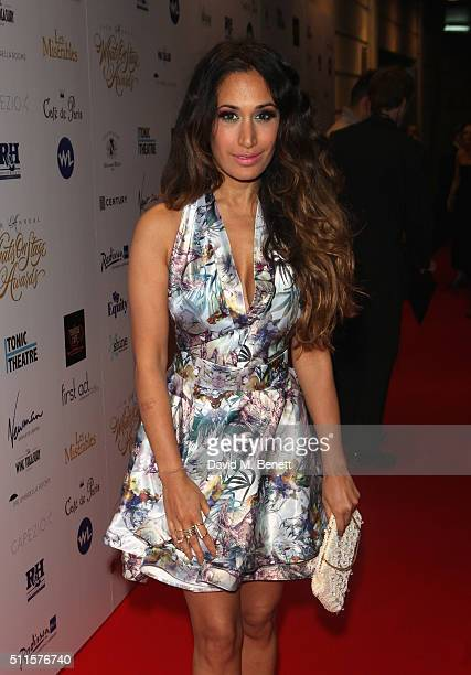 Preeya Kalidas attends the 16th Annual WhatsOnStage Awards at The Prince of Wales Theatre on February 21 2016 in London England