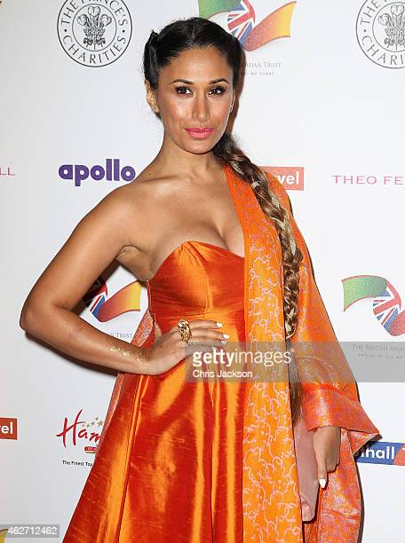 Preeya Kalidas attends the British Asian Trust dinner at Banqueting House on February 3 2015 in London England