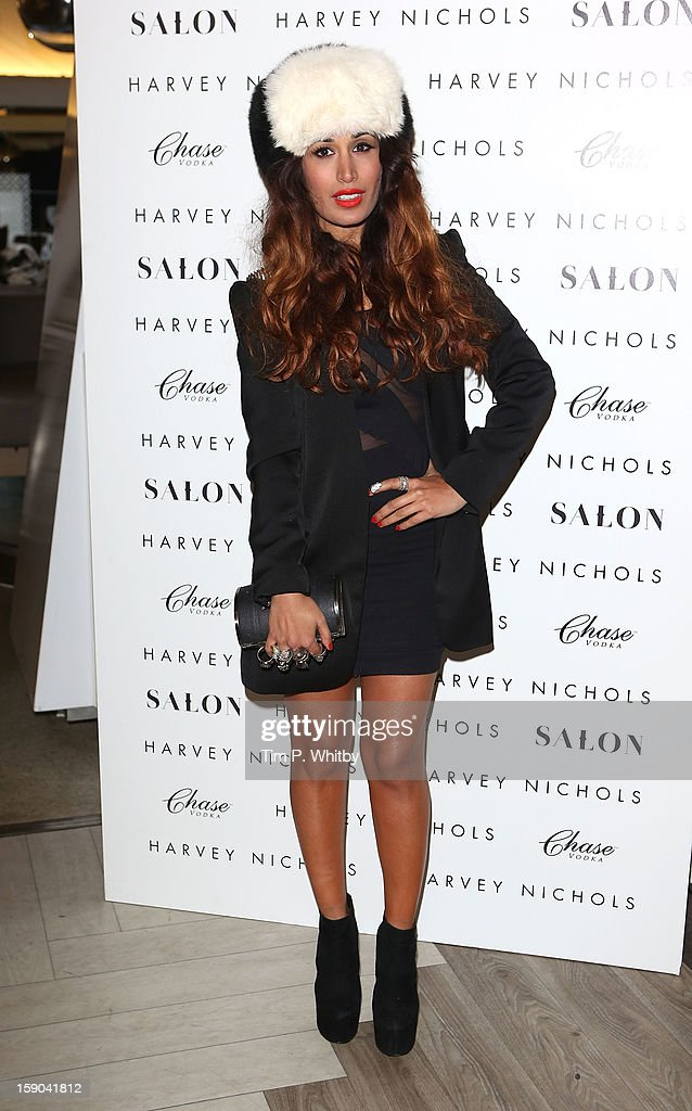 Preeya Kalidas attends the launch of 1205 Paula Gerbase Hosted By Harvey Nichols ahead of the London Collections: MEN AW13 at Harvey Nichols on January 6, 2013 in London, England.
