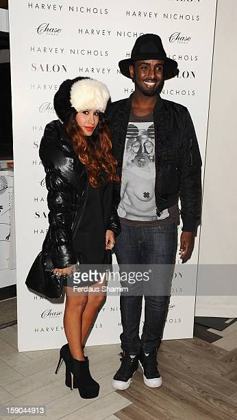 Preeya Kalidas attends the launch of 1205 Paula Gerbase Hosted By Harvey Nichols ahead of the London Collections MEN AW13 at on January 6 2013 in...