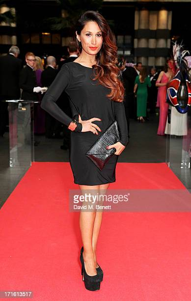 Preeya Kalidas attends the launch of The Global Party at The Savoy Hotel on June 26 2013 in London England