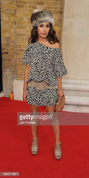 Preeya Kalidas attends the Look a/w 2010 show at Saatchi Gallery on September 17 2010 in London England