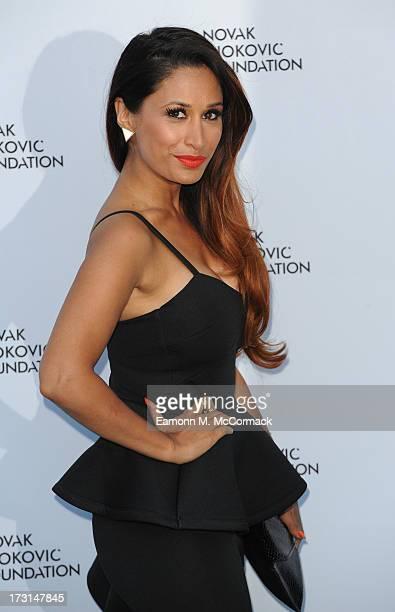Preeya Kalidas attends the Novak Djokovic Foundation London gala dinner at The Roundhouse on July 8 2013 in London England