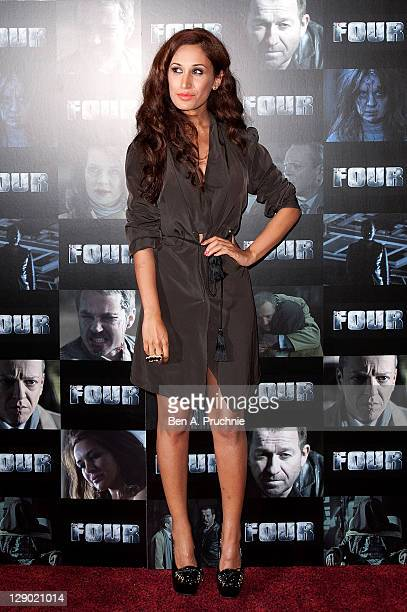 Preeya Kalidas attends the UK premiere of 'Four' at The Empire Cinema on October 10 2011 in London England