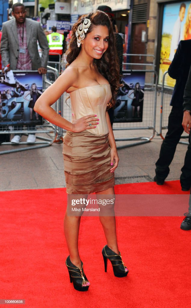 Preeya Kalidas attends the World Premiere of 4,3,2,1 at Empire Leicester Square on May 25, 2010 in London, England.
