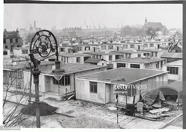 PreFab Housing For London's Blitz Victims 1946