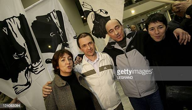 Prefect Erignac case Corsican nationalists Jean Castela and Vincent Andriuzzi accused of masterminding the assassination of the prefect are free In...