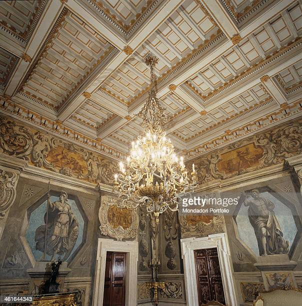 Prefecture Palace of Rieti by Jacopo Barozzi 1580 1599 16th Century Italy Lazio Rieti Vincentini Palace Detail A jewel of Renaissance architecture...