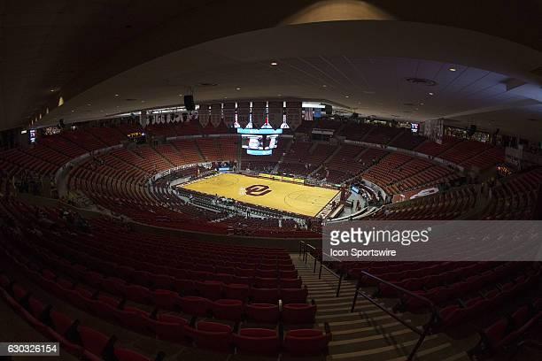 Pregame during the South Dakota State vs University of Oklahoma NCAA Women's Basketball game November 23 at the Lloyd Noble Center in Norman OK